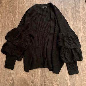 Black Topshop Women's Cardigan